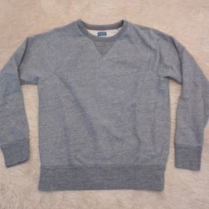 J. Crew Vintage Fleece sweatshirt Size Small Gray